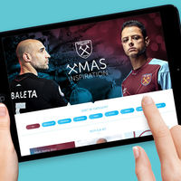 CHIEF Project: West ham United, Website Design
