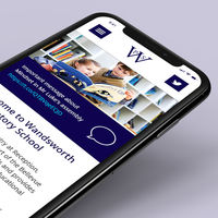 CHIEF Project: Wandsworth Prep Website, School Websites, Website Design, Branding