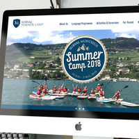 CHIEF Project: Surval Montreux Summer Camp, School Websites, Website Design, Branding