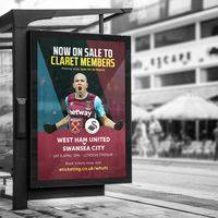 CHIEF Project: West Ham United, Print, Advertising