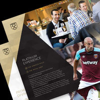 CHIEF Project: West Ham United Corporate, Print